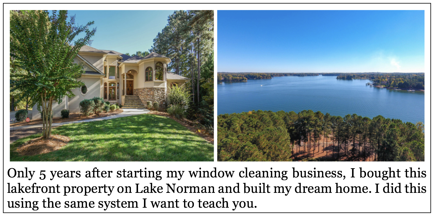 Window washing wealth the window washing wealth program has changed our life and the way we run our business we are now a million dollar plus a year company just on storefront malvernweather Images